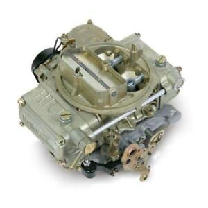 Holley Carburetor 0 8007 Original Performance 390cfm Vacuum Gold Dichromate