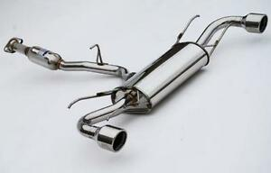Invidia Q300 Catback Exhaust 04 10 Mazda Rx8 Rx 8 Stainless Tips