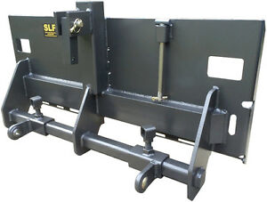 Slf Skid Steer Quick Attach 3 Point Hitch Category 1 3 pt Hitch Adapter Tractor