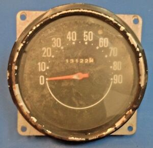 Jeep Speedometer Cj2a Cj3 Cj4 Cj5 Cj6 Willy Military Gauge With Free Shipping