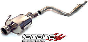 Tanabe Medalion Touring Cat back Exhaust System For 1992 95 Honda Del Sol