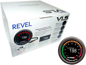 Tanabe Revel Vls Oled Uego Wideband Air Fuel Ratio Gauge With 4 9 Lsu O2 Sensor