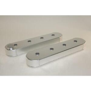 Prw Engine Valve Cover 4034620 Silver Fabricated Aluminum For Chevy Ls series
