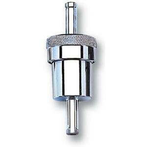 Russell Fuel Filter 645060 40 Microns Chrome Plated Aluminum