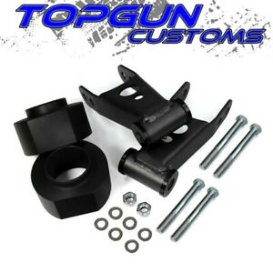 84 01 Jeep Cherokee Xj 3 Front 2 Rear Lift Spacers Kit 2wd 4wd W Shackles