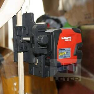 Hilti Laser Level Pm 2 l Line Laser Send Additional Magnetic Pivot Bracket