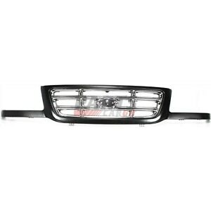 New Grille Painted With Chrome Bars Fits 2001 2003 Ford Ranger 3l5z8200ca