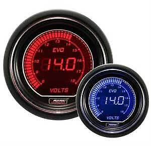 Prosport Evo Series 52mm Electrical Digital Volt Gauge