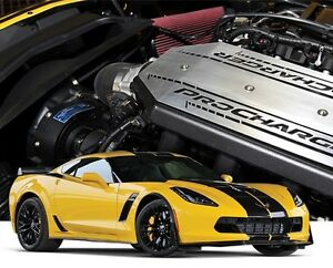Chevy Vette C7 Z06 Stingray Lt4 Procharger P1sc1 Supercharger Intercooled System