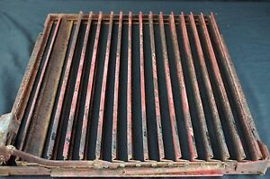 Original Genuine Ih Mccormick Farmall H Radiator Shutters Distillate Kerosene