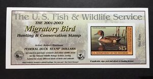 #RW68A 2001 2002 US Federal Duck Stamp Post Office FRESH