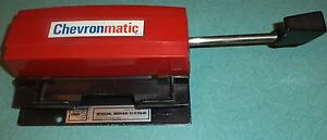 Manual Hand Slide extremely Rare Credit Card Imprinter
