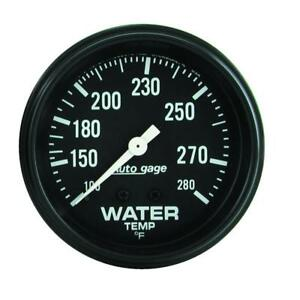 Auto Meter Coolant Temperature Gauge 2313 Auto Gage 100 To 280 f 2 5 8