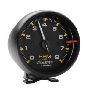 Auto Meter Tachometer Gauge 2300 Auto Gage 0 To 8000 Rpm 3 3 4 Electrical