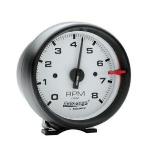 Auto Meter Tachometer Gauge 2303 Auto Gage 0 To 8000 Rpm 3 3 4 Electrical