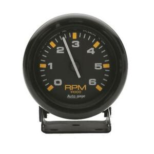 Auto Meter Tachometer Gauge 2306 Auto Gage 0 To 6750 Rpm 2 3 4 Electrical