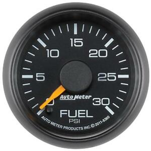 Auto Meter Fuel Pressure Gauge 8360 Gm Factory Match 0 30 Psi 2 1 16 Electrical