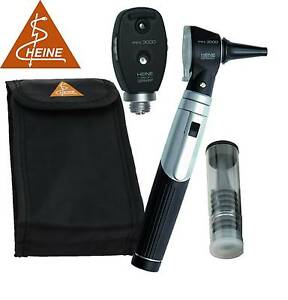 Heine Mini 3000 Combined Ophthal Otoscope Diagnostic Set 1 Handle