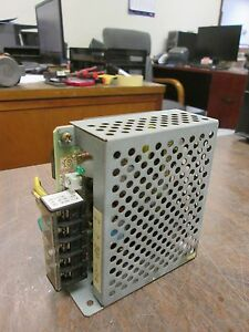 Omron Power Supply S82j 0124 In 100 120vac 50 60hz 0 35a Out 24vdc 0 5a Used