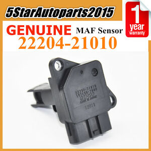 22204 21010 Genuine Denso Mass Air Flow Meter For Toyota Camry Scion Lexus Rx300