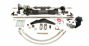 1955 57 Ford Thunderbird Unisteer Rack And Pinion Power Steering Conversion Kit