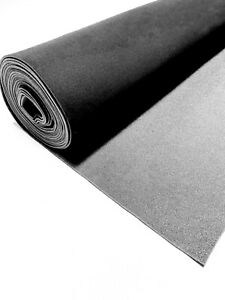 Black Upholstery Auto Pro Headliner Fabric 3 16 Foam Backing 120 l X 60 w