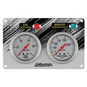 Auto Meter Gauge Set 7065 Auto Gage Mechanical Oil Pressure Water Temperature