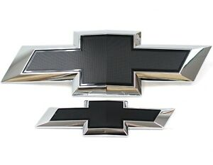 23463800 2015 2018 Chevrolet Tahoe Suburban New Black Bowtie Emblem Package Oem