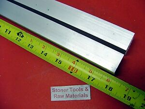 2 Pieces 1 X 1 Aluminum 6061 Square Bar 18 Long T6511 Solid New Mill Stock