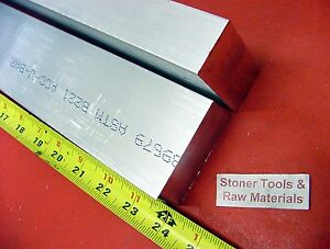 2 Pieces 1 X 3 Aluminum 6061 Flat Bar 24 Long Solid 1 000 T6511 Mill Stock