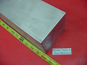4 X 4 Aluminum 6061 Square Solid Bar 16 Long T6511 Flat New Mill Stock