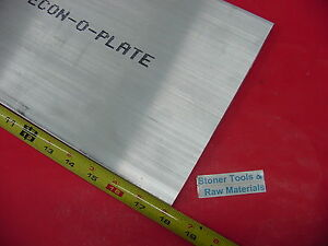 1 2 X 10 X 18 Aluminum 6061 Bar Solid T6511 New Extruded Mill Stock Plate