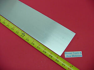 3 8 X 4 Aluminum 6061 Flat Bar 30 Long T6511 Solid New Extruded Mill Stock