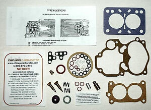 1937 39 Carb Kit Carter Wdo Model 2 Barrel Cadillac Lasalle Ethanol Tolerant New