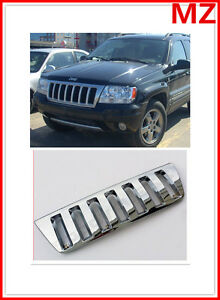 For 99 03 Jeep Grand Cherokee Chrome Grille Performance Grille Racing Sport Jdm