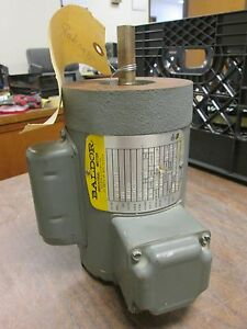 Baldor Motor 1 8hp 115 108 230v 2 5 1 3 1 25a 3450rpm Used