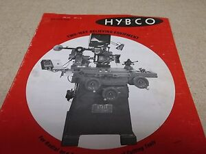 Hybco Bulletin 9690 User s Operator s Manual Instruction Book free Shipping