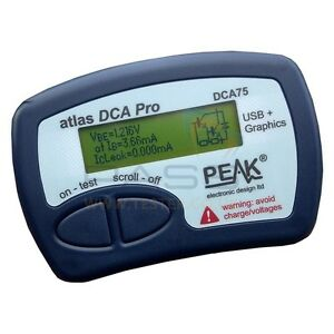 Peak Dca75 Atlas Advanced Semiconductor Analyser New Japan Shipping Free