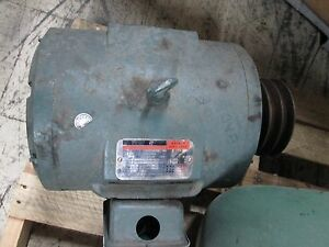 Reliance Electric Duty Master Ac Motor P21f3011 10hp 1750rpm 230 460v 26 12 5a