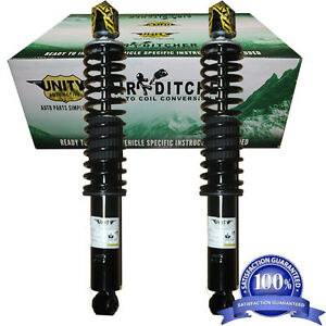97 02 Ford Expedition 4wd Lincoln Navigator Air Shocks Coil Spring Conversion