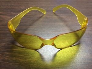 144 Pair Of Amber Safety Shooting Glasses New Nib