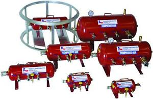 10 Gallon Tank Style Pneumatic Air Distribution Manifold