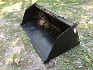 New 84 Skid Steer tractor Snow mulch 7 Bucket For Bobcat Case Cat