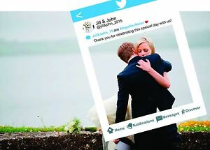 Twitter Style Frame Cut Out Large