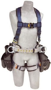 Dbi Sala 1108517 Exofit Construction Style Harness With Tool Pouches m
