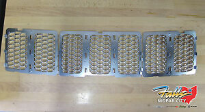 2014 2016 Jeep Grand Cherokee Platinum Honey Comb Grille Inserts Mopar Oem
