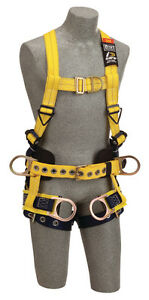 Dbi Sala 1107774 Delta Vest style Tower Climbing Harness 2xl