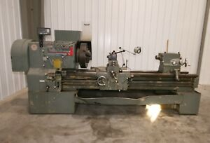 10956 Leblond Regal 24 X 80 Lathe 5 Spindle Bore