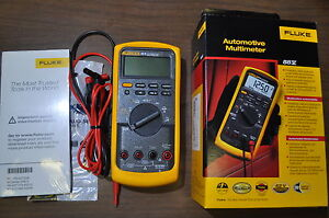 Fluke 88v Automotive Meter Kit 88 5 Multimeter Made In Usa
