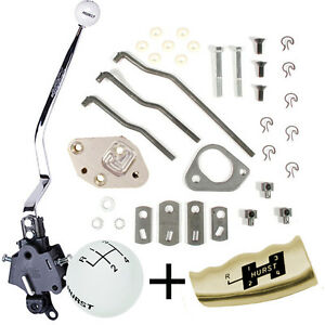 Hurst Mopar 4 Speed Shifter Kit 1966 1967 1698 1969 B Body With Console 3916790